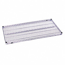 Wire Shelf, 21x36 in., Zinc Plated