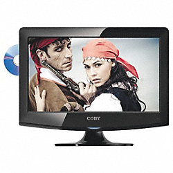 15 In. Class 720p LED HDTV w/DVD Player