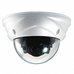Weatherproof Dome Camera, Wide Range