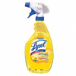 All Purpose Cleaner, 32 oz, Lemon Br, PK 12