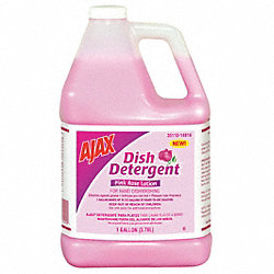 Liquid Dishwashing, 1 gal., Rose, PK4