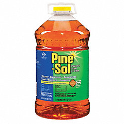 Cleaner Disinfectant, 144 oz, Pine, PK 3