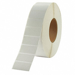 Label, White, Thermal Transfer Paper, PK8