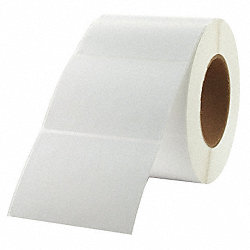 Label, White, Direct Thermal Paper, PK4