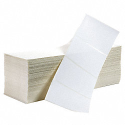 Label, White, Direct Thermal Paper, PK3