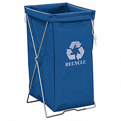 Enviro Hamper Kit, 30 gal, Blue