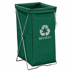 Enviro Hamper Kit, 30 gal, Green