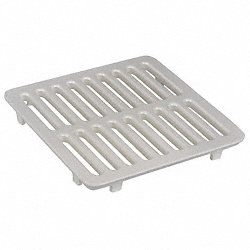 Full Floor Drain Grate, 8-7/8 In L