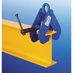 Lifting Clamp, Beam, Capacity 2000 lb.