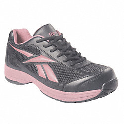 Athletic Shoes, Steel Toe, Woms, 7-1/2, PR