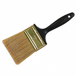 Paint Brush, 3 In, 9-1/2 In, Flat Sash