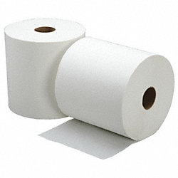 Roll Towel, 800 Ft, White, Pk 6
