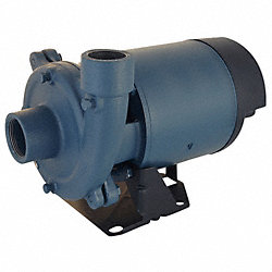 Booster Pump, 1 HP, 3-Phase, 208-230/460V