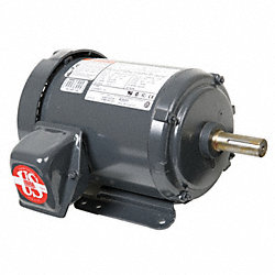 Mtr, 3ph, 3hp, 3600rpm, 208-230/460, Eff 88.5