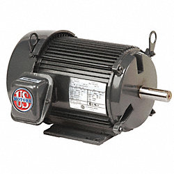 Mtr, 3ph, 7.5hp, 3600, 208-230/460V, Eff 91.7