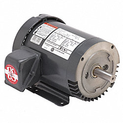 Mtr, 3ph, 2hp, 1800rpm, 208-230/460, Eff 86.5
