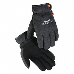 Cold Protection Gloves, L, Black, Pr