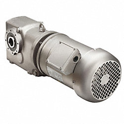 AC Gearmotor, Single, 31 RPM, 1-1/2 HP