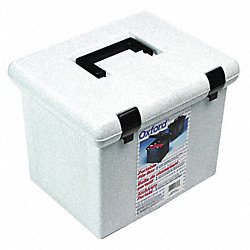 File Storage Box, Granite, Plastic