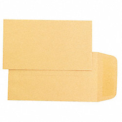 Coin Envelope, Light Brown, Kraft, PK500