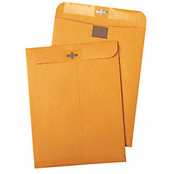Catalog Envelope, Lt Brown, Kraft, PK 100