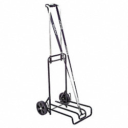 Luggage Cart, Black/Chrome