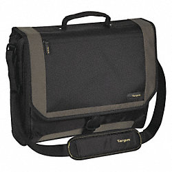 Laptop Case, Black/Gray/Yellow, Nylon