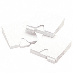CD/DVD Sleeves, 1, White, PK 100