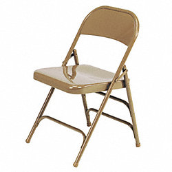 Folding Chair, Golden Bronze