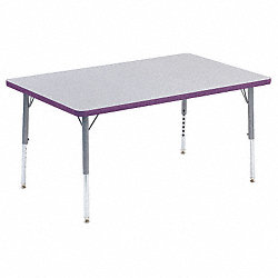 Activity Table, 30 x 48 In, Gray Nebula