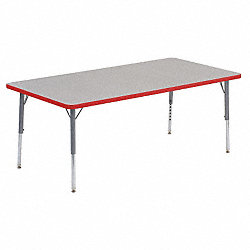 Activity Table, 30 x 60 In, Gray Nebula