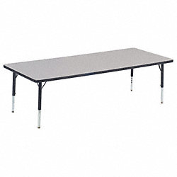 Activity Table, 30 x 72 In, Gray Nebula