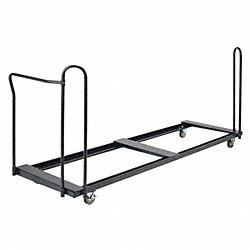 Folding Table Cart, 98-1/2 In