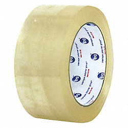 Carton Tape, Clear, 3 In. x 55 Yd., PK24