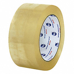 Carton Tape, Clear, 2 In. x 60 Yd., PK36