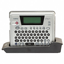 Label Printer Kit, Gray/Black, Plastic