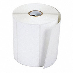 Label, White, Paper, 2 In. W, PK12