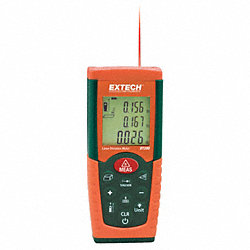 Laser Distance Meter, 4 In to 115 ft