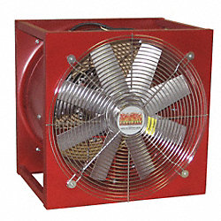 Portable Fan, Explosion Proof, 18 In