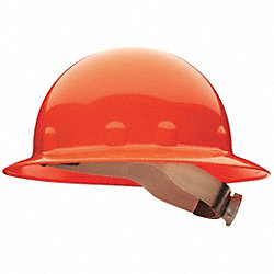 Hard Hat, Full Brim, E/G/C, Ratchet, Orange