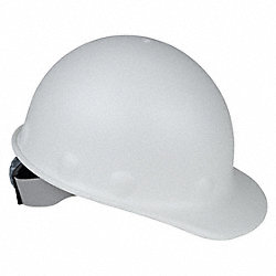 Hard Hat, Front Brim, G, Ratchet, White