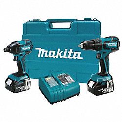 Cordless Combination Kit, 18.0V, Li-Ion
