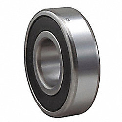 Radial Ball Bearing, Sealed, Dia. 17mm