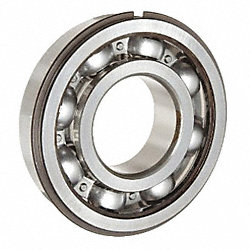 Radial Ball Bearing, Open, Dia. 35mm