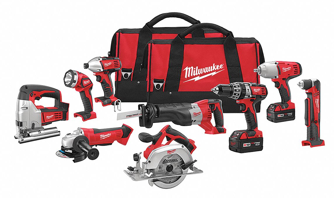 Milwaukee Cordless Combination Kit, 18.0v 2696-29 at Sears.com