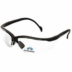 Safety Reader Glasses, 2.0 Diopter, Clear