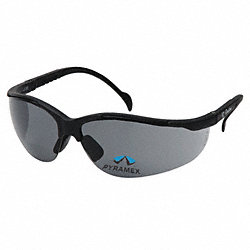 Safety Reader Glasses, 2.0 Diopter, Gray