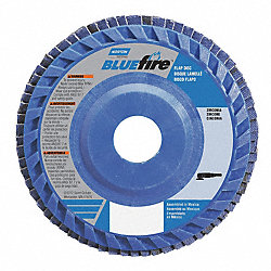 Flap Disc, 7 In X, 60 Grit, 7/8, TY27