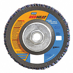 Flap Disc, 4 1/2 In X, 40 Grit, 5/8-11, TY29