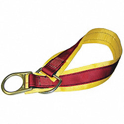 Anchrage Connctr Strap, Polyester, 36 In L